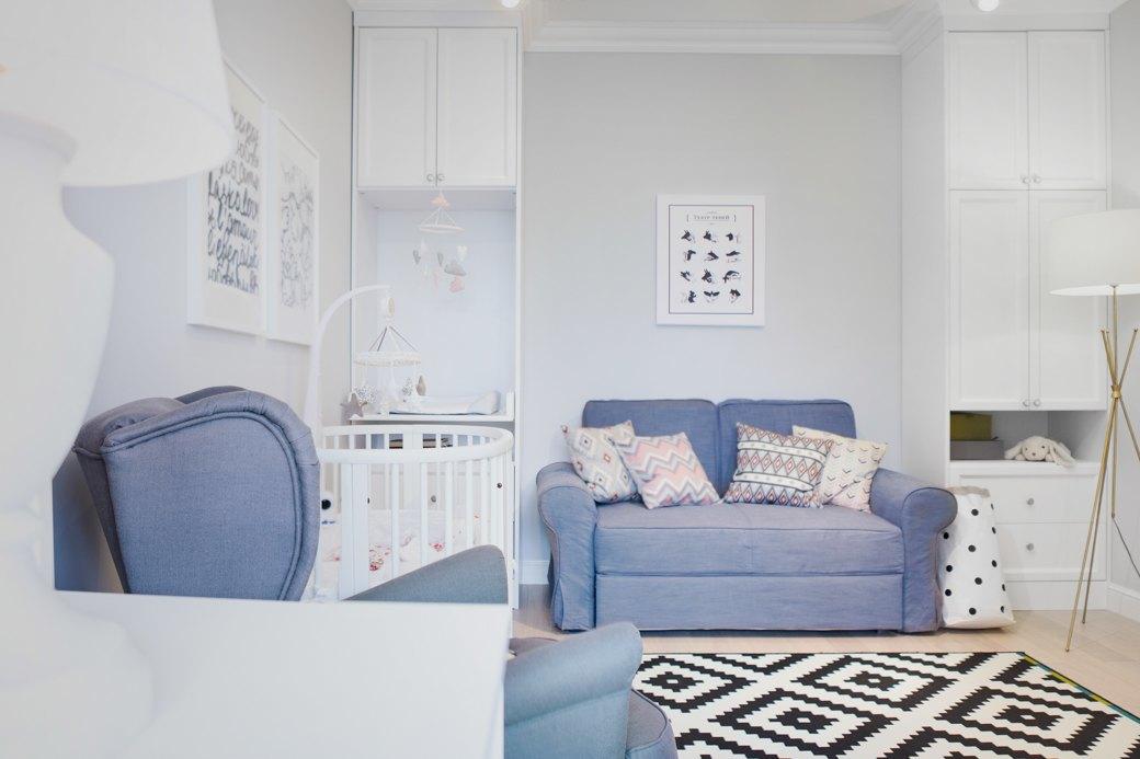 Квартира впослевоенном стиле для молодой семьи. Изображение № 12.