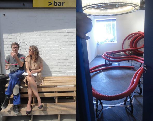 Изображение 14. В баре «Стрелка» появится проект индустриального дизайнера Себастьяна Виринка.. Изображение № 15.