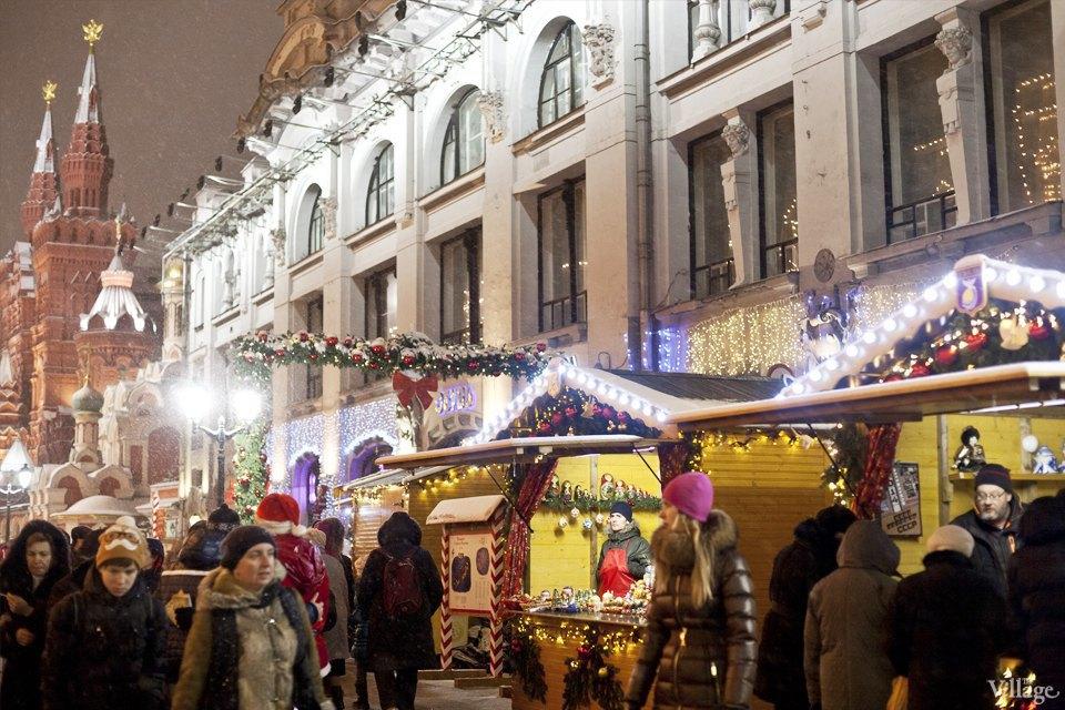 Фоторепортаж: Новогодние ярмарки в центре Москвы. Изображение № 26.