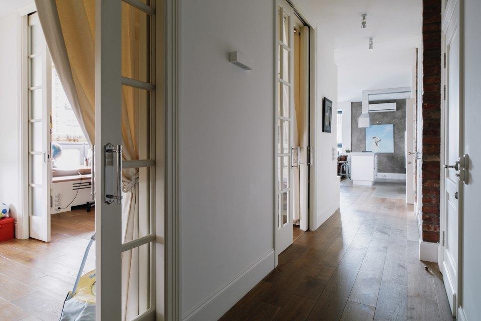 Четырёкомнатная квартира в американском стиле для семьи сдвумя детьми. Изображение № 40.