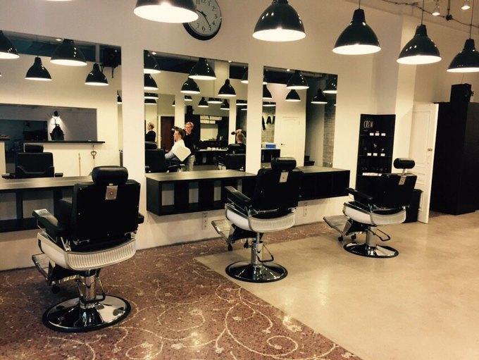 В Москве открылась ещё одна мужская парикмахерская «Аляска». Изображение № 2.