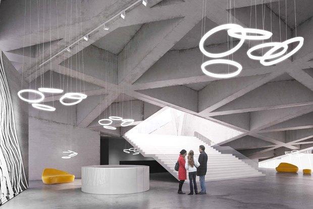 Три проекта нового здания ГЦСИ. Изображение № 11.