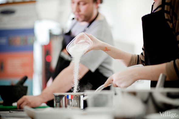 Omnivore Food Festival: Иван Шишкин готовит пеммикан и черемуховые полбяные пряники. Изображение № 8.