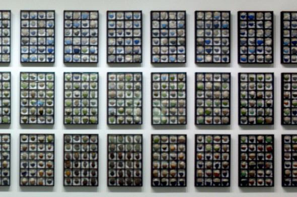 Мишмаш. «Будь мягче, будь твёрже». Камни, шерсть, смешанная техника. Москва, 2008–2011.. Изображение № 3.