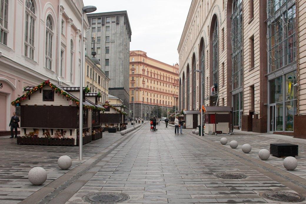 Берегись пешехода:  Большая Ордынка, Мясницкая иПатриаршие пруды после реконструкции. Изображение № 29.