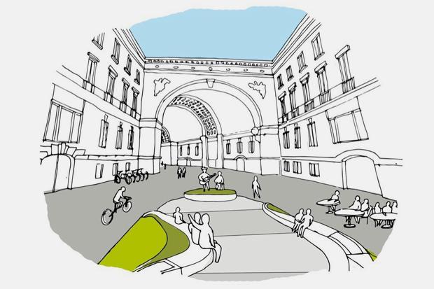 Социолог— отом, как превратить БольшуюМорскую вТаймс-сквер. Изображение № 2.