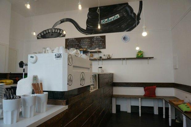 Владельцы Robusta открыли кофейню City Coffee. Изображение № 3.
