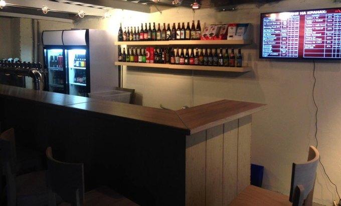 Магазин крафтового пива «Эль истаут» открыл свой бар. Изображение № 2.