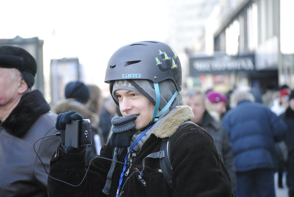 Вова Москва: «Нашисты спрашивали, как связь с космосом». Изображение № 1.