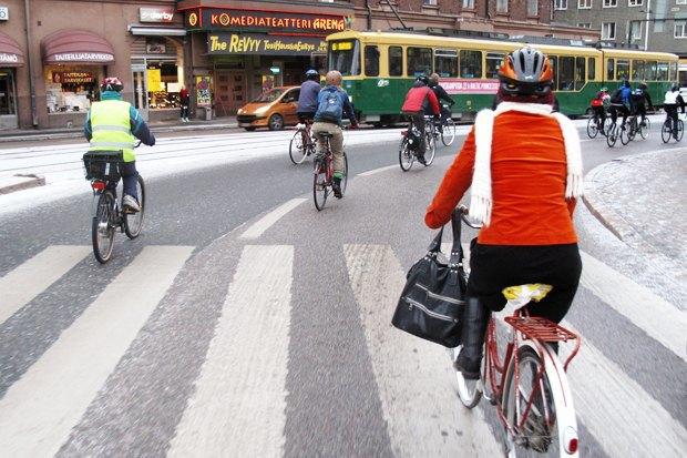 Консультант мэрии финского Оулу — о зимнем велодвижении. Изображение № 13.