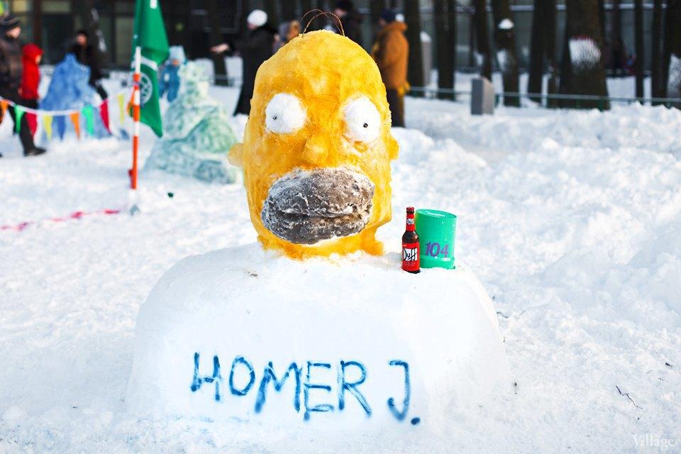 Люди в городе: «Арт-битва снеговиков». Изображение № 21.
