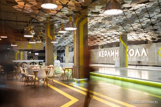 НаБухарестской открылся кёрлинг-центр с баром. Изображение № 3.