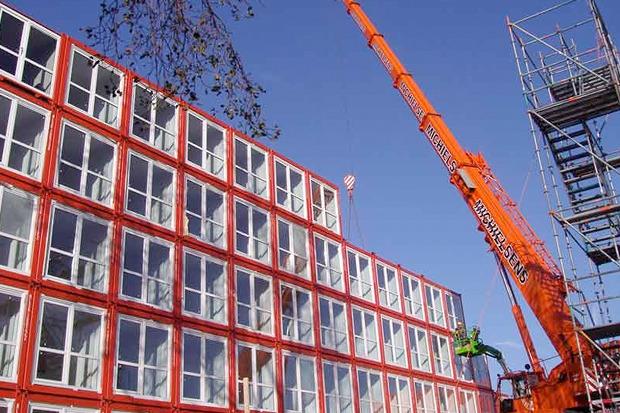 Студенческие общежития из контейнеров в Голландии. Изображение № 10.