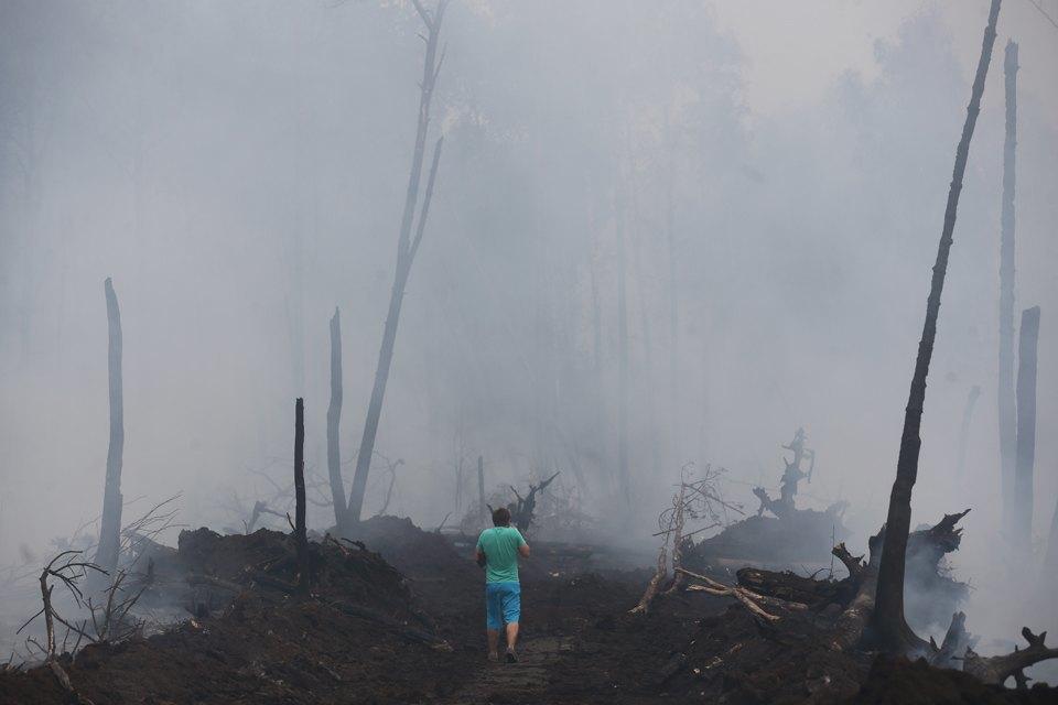 Как тушат лесные пожары вТверской области. Изображение № 7.