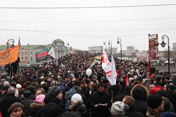Фоторепортаж: Митинг против фальсификации выборов. Изображение № 18.