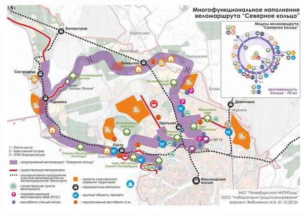 Активисты подготовили проекты двух велодорожек. Изображение № 1.