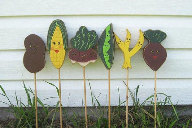 Набор маркеров для сада, 1 250 рублей за набор. Изображение № 2.