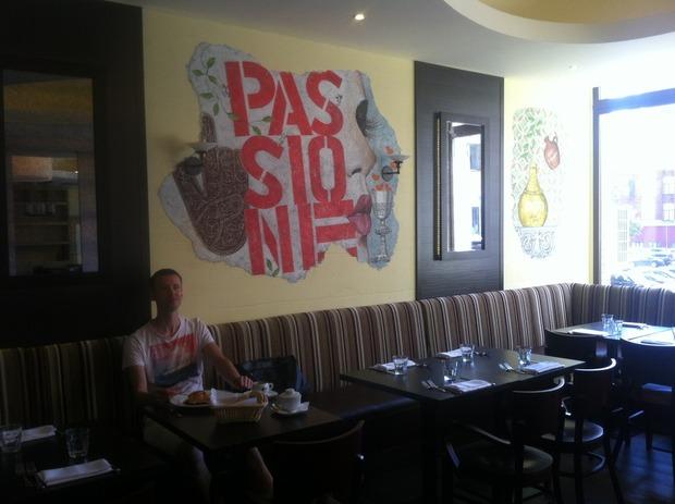 На Красной Пресне открылся первый ресторан сети Serafina. Изображение № 5.