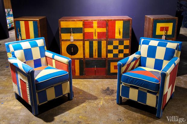 Кресло Regatta Brico Chair — 53800 рублей, комод Regatta 9 Drawer Chest — 81040 рублей. Изображение № 7.