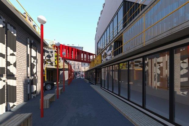 Горизонтальный проект: Коммерческий директор «Лофт Проекта Этажи» — про бизнес-центр изконтейнеров. Изображение № 3.