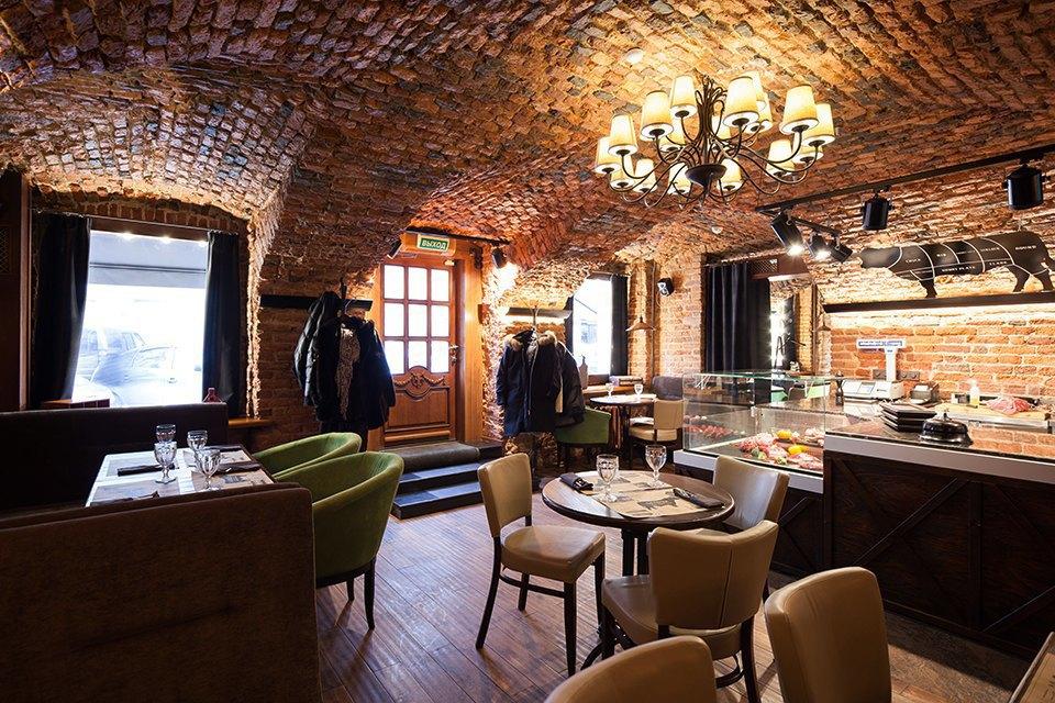 Ресторан «Гирлянда Steak Shop&Show» наРубинштейна . Изображение № 6.