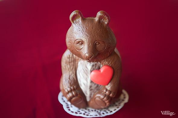 Шоколадная фигурка «Медведь» — 390 рублей. Изображение № 17.