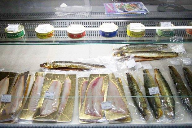 На «Соколе» открылась лавка с сибирской рыбой. Изображение № 5.