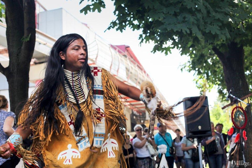 Гости столицы: Как вМоскве оказались индейские музыканты. Изображение № 12.