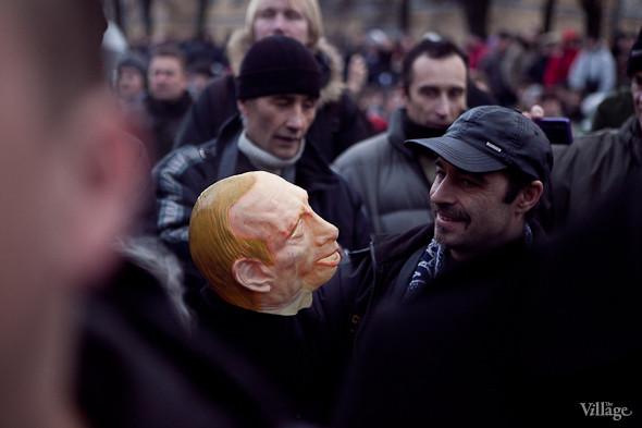 Фоторепортаж: Митинг против фальсификации выборов в Петербурге. Изображение № 25.