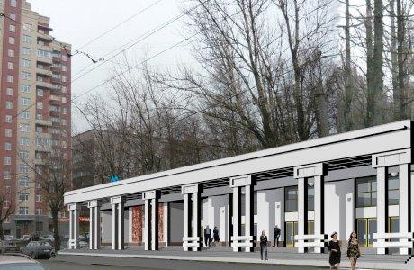 В сети появились эскизы станций коричневой ветки метро. Изображение № 9.