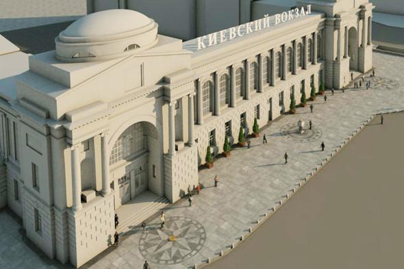 В плане: Реконструкция московских вокзалов. Изображение № 16.