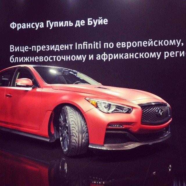 Московский автосалон вснимках Instagram. Изображение № 11.