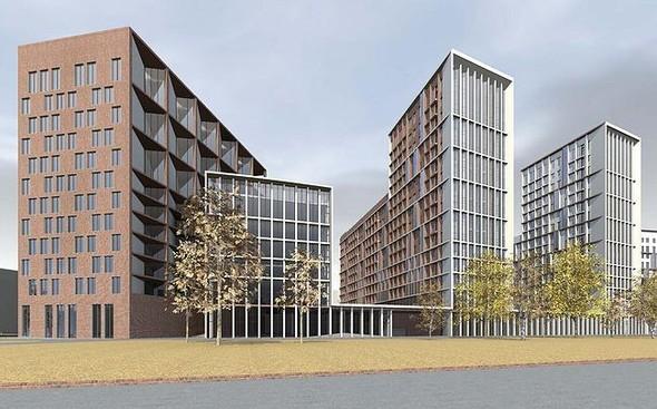 На набережной Яузы построят многофункциональный жилой комплекс. Изображение № 3.