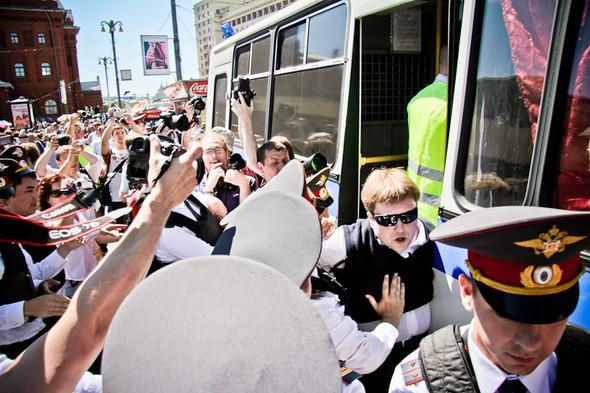 Изображение 13. Copwatch: действия полиции на «Дне гнева» на Театральной площади.. Изображение № 13.