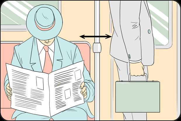 Правила поведения для пассажиров общественного транспорта. Изображение № 3.