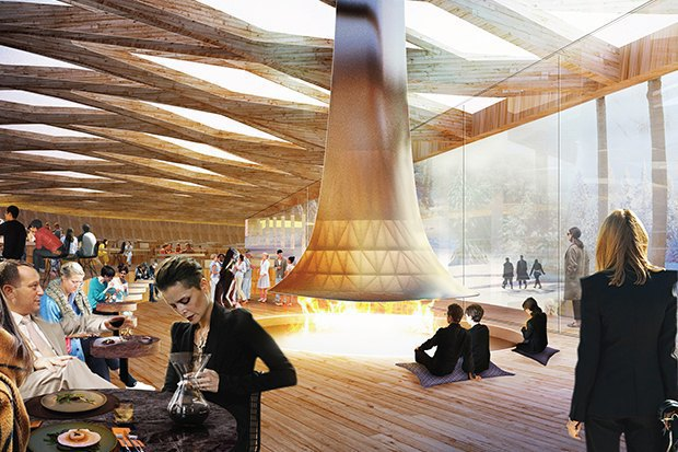 На территории будущего парка «Зарядье» появится интерактивный павильон. Изображение № 6.