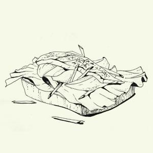 Брускетта избородинского хлеба спряной скумбрией Алексея Айзена. Изображение № 7.
