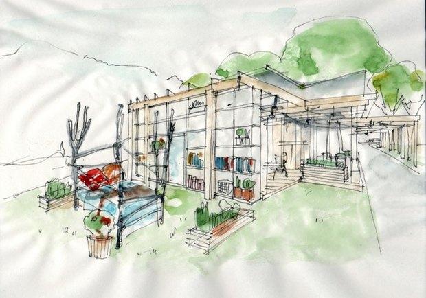 В Нескучном саду открывается кафе «Теплица». Изображение № 1.