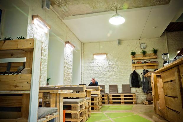Новое место: Коворкинг икофейня Les. Изображение № 1.