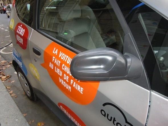 Иностранный опыт: Прокат электромобилей в Париже. Изображение № 14.