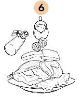 Рецепты шефов: Тёплый салат с перепёлкой и свежей малиной. Изображение № 9.