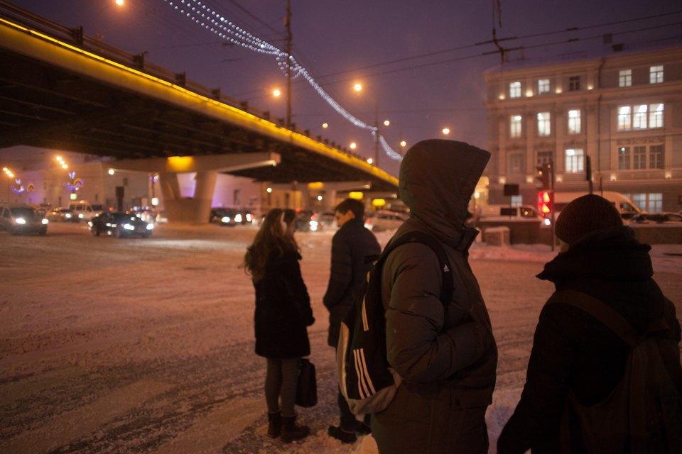 Как Москва справляется снеожиданным декабрьским снегом. Изображение № 10.