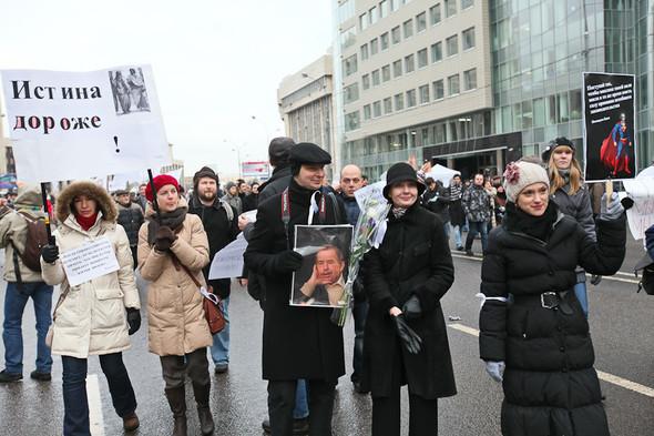 Митинг «За честные выборы» на проспекте Сахарова: Фоторепортаж, пожелания москвичей и соцопрос. Изображение № 10.