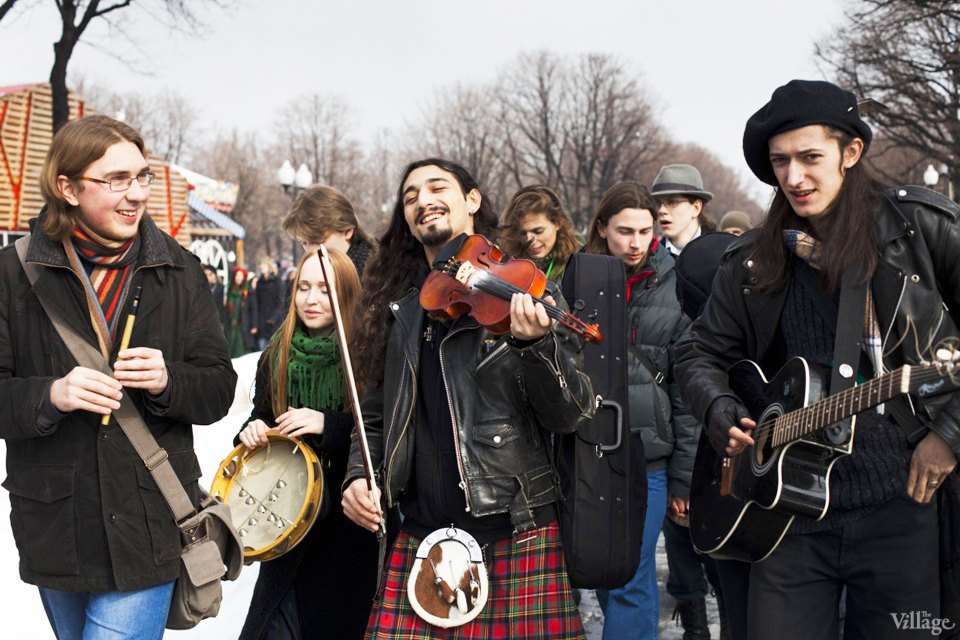 Люди в городе: Участники парада вчесть Днясвятого Патрика. Изображение № 10.