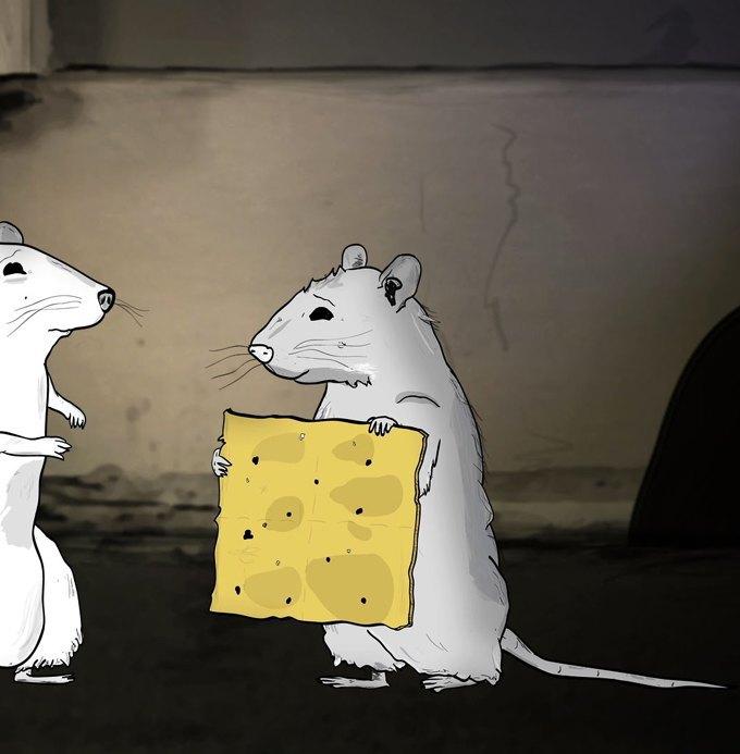 «О да! Еда!», китайское кино, «Скромный герой» Марио Варгаса Льосы. Изображение № 2.