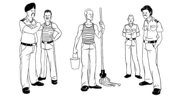 Как всё устроено: Работа моряка. Изображение № 2.