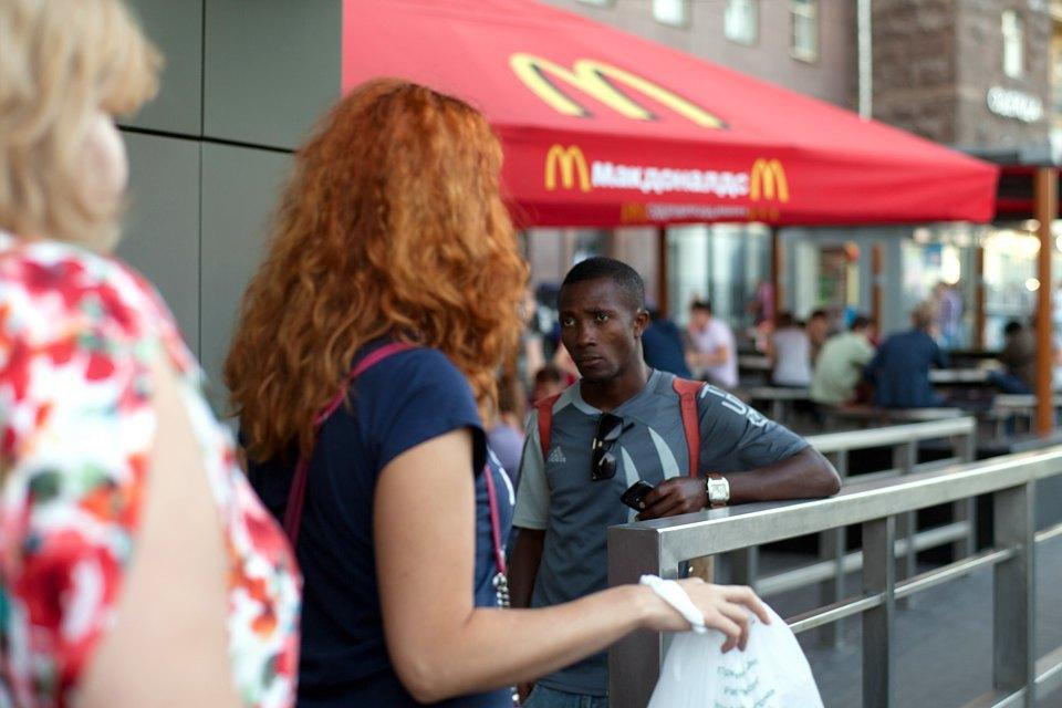 Закрытый «Макдоналдс» наПушкинской. Изображение № 5.