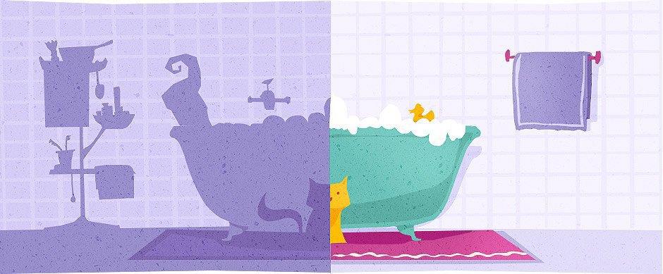 Домпросвет: Нестандартные решения для ванной. Изображение № 7.