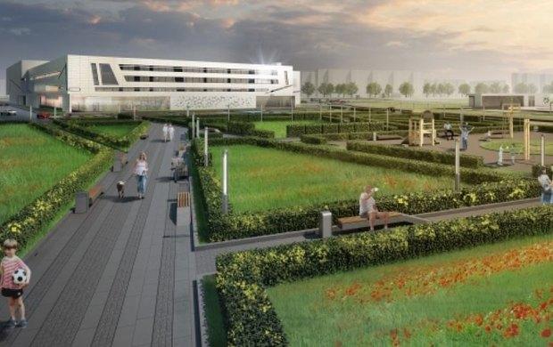 СКА построит хоккейный комплекс возле Ледового дворца вследующем году. Изображение № 1.