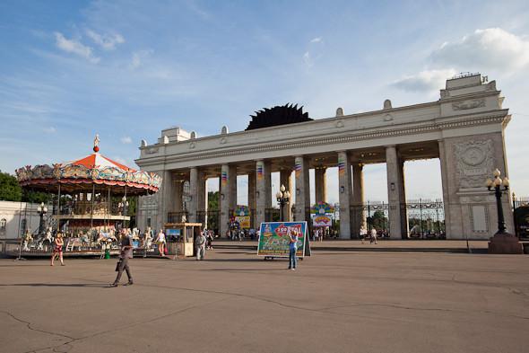 Возле парка Горького построят подземную парковку. Изображение № 1.